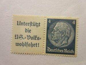 GERMANY  Zusammendrucke  Michel  W68  MINT NEVER HINGED  Lot-Z  Cat €7