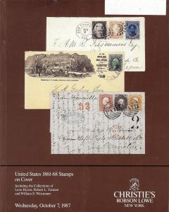United States 1861-68 Stamps on Cover: Including the Coll...