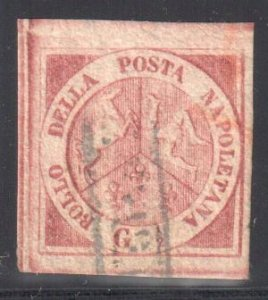 Naples, #1b with Sismondo Certification -- VF USED