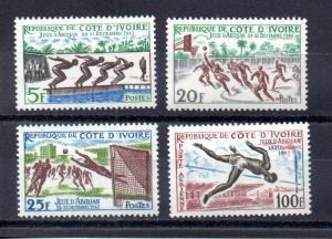 Ivory Coast 193-195,C17 MNH