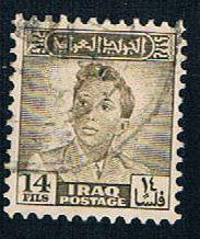 Iraq 135 Used King Faisal II (BP4828)