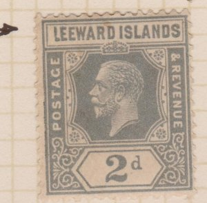 Leeward Islands Sc#68 MH Variety Abnormal L