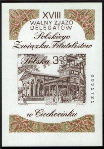 Poland #3653 Souvenir/Mini Sheet MNH- Engraved by Czeslaw Slania (2002)