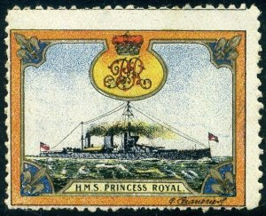 Cinderellas: England Great War Ships - HMS Princess Royal (Delandre)