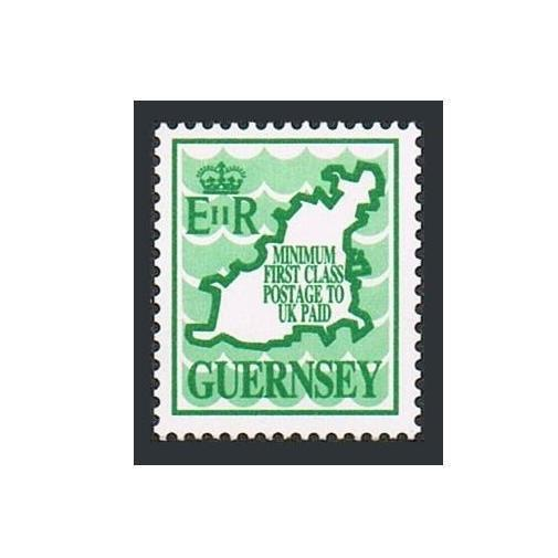 Guernsey 380, Mnh.michel 452. Waves.map. Minimum To UK Bezahlt
