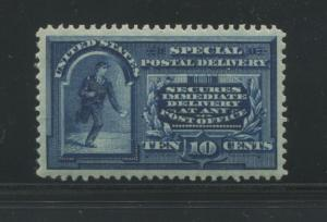 1894 US Special Deliver Stamp #E4 Mint Lightly Hinged Very Fine Original Gum