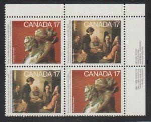 Canada 850a Paintings - MNH - Block