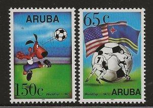 ARUBA  SC #  107 - 8     MNH