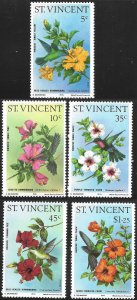 St Vincent # 465 - 69 Mint Never Hinged