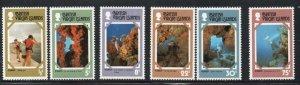 British Virgin Islands Sc 327-32 1978 Tourist Publicity  stamp set mint NH