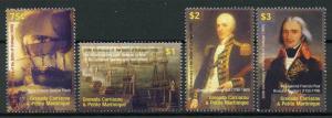 Grenadines Grenada 2005 MNH Battle of Trafalgar 4v Set Military Ships Stamps