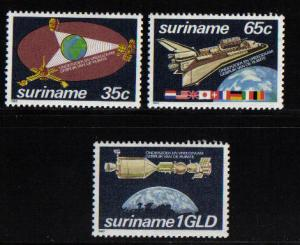 Surinam 1982 MNH Peaceful Uses of Outer Space complete