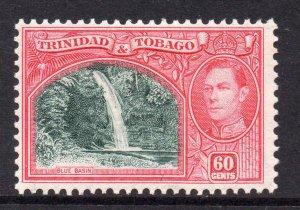 Trinidad Tobago 1938 KGVI 60c SG 254 mint CV £16