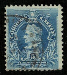Chile, 5 centavos (3825-Т)