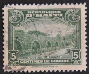 DYNAMITE Stamps: Haiti Scott #327 – USED