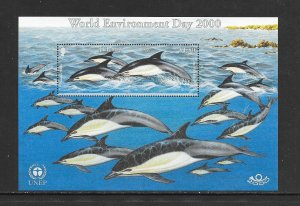 FISH - JERSEY #957  DOLPHINS  MNH