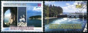 2020 Macedonia Tourism (2) (Scott NA) MNH