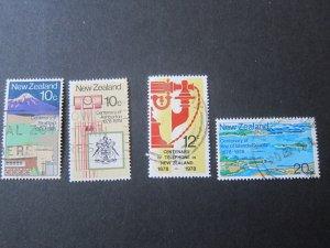 New Zealand 1978 SG 1160-1163 FU set