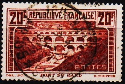 France.1929 20f S.G.475 Fine Used