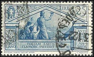 Italy - 254 - Used - SCV-12.00