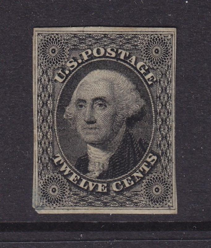 17 F-VF unused ( mint no gum ) with nice color cv $ 2200 ! see pic !