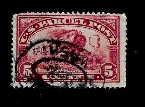 US 1913  Sc# Q 5  PARCEL POST  Used - Washington  Cancel - Vivid Color