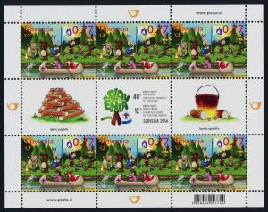 Slovenia 1039 Sheet MNH - Scouting, World Scout Conference