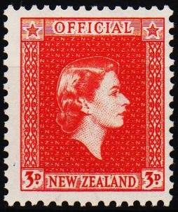 New Zealand. 1954 3d S.G.0163 Mounted Mint