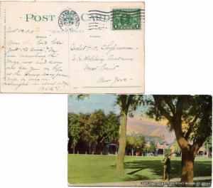 United States Utah Salt Lake City 1913 machine  1c Panama Pacific  PPC (Offic...