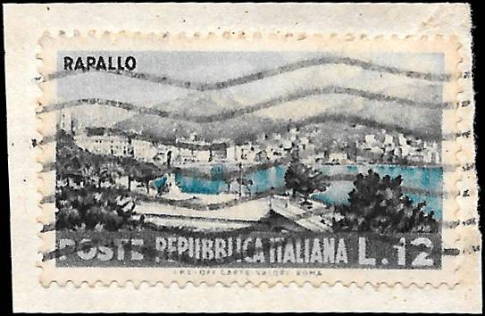 ITALY SC# 642  - USED ON PEICE - NICE ALBUM SPACE FILLER
