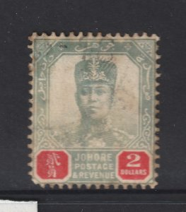 Johore a used?? $2 from the 1904 series