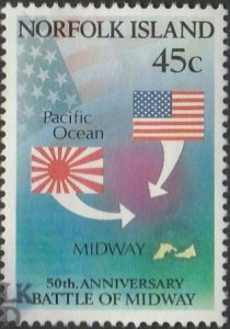 Norfolk Island, #521 Used,  From 1992