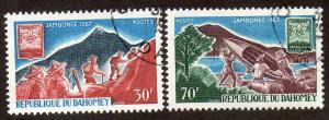 Dahomey  Scott  239-240  Used