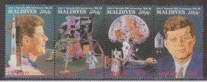 Maldive Islands Scott #1309 Stamps - Mint NH Strip of 4