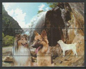 Uzbekistan 2006 Animals, Pets, Dogs, MNH Block