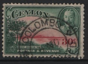 CEYLON, 272, USED, 1935-36, Ancient Resevoir