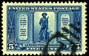 U.S. #619 Used VF