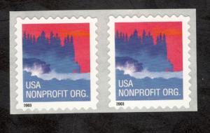 3785 Sea Coast Nonprofit US Pair Mint/nh (Free Shipping)