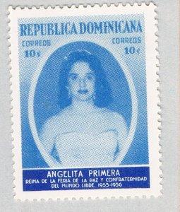 Dominica Woman Perlttta blue 10c (AP133620)