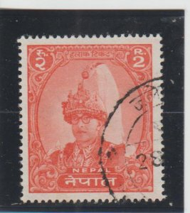 Nepal  Scott#  150  Used  (1962 King Mahendra)