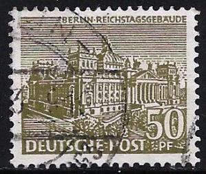 Germany 1949 Allied Occupation of Berlin Scott # 9N53 Used