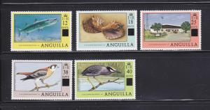 Anguilla 337, 339-342 MNH Surcharges