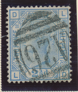 Great Britain Stamp Scott #68, Used, Good Centering - Free U.S. Shipping, Fre...