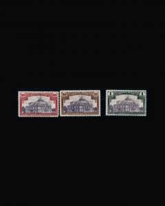 VINTAGE: MEXICO 1933 OGNHPOF SCOTT # C51-53 $ 190 LOT # MEX1933AF