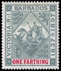 Barbados - Scott 81 - Mint-Hinged