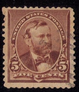 US Sc 223 Used Chocolate Brown F-VF