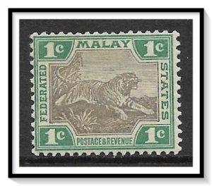 Malaya, Federation #18b Tiger MH