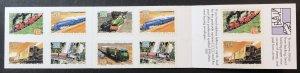 Australia 1335b booklet railways, transportation SCV  $12.00 Priced to Sell!
