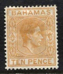 STAMP STATION PERTH Bahamas #109 KGVI Definitive  MH CV$3.00