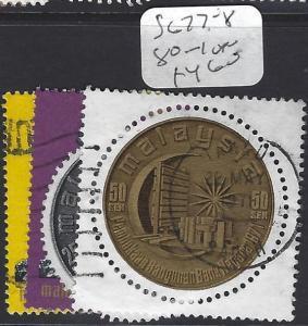 MALAYSIA (P3008B)  SG  77-8, 80-1   VFU